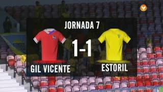 I Liga (7ªJ): Resumo Gil Vicente FC 1-1 Estoril Praia