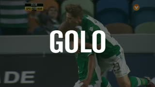 GOLO! Sporting CP, João Mário aos 15', Sporting CP 2-0 Marítimo M.