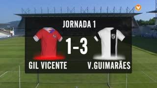 I Liga (1ªJ): Resumo Gil Vicente FC 1-3 Vitória SC