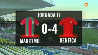 I Liga (17ªJ): Resumo Marítimo M. 0-4 SL Benfica