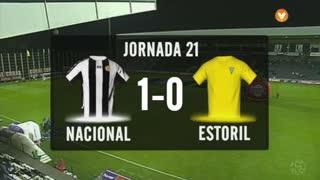 I Liga (21ªJ): Resumo CD Nacional 1-0 Estoril Praia