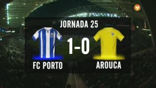 I Liga (25ªJ): Resumo FC Porto 1-0 FC Arouca