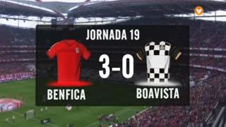 I Liga (19ªJ): Resumo SL Benfica 3-0 Boavista FC