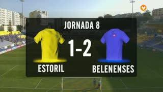 I Liga (8ªJ): Resumo Estoril Praia 1-2 Belenenses