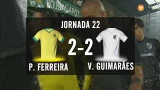 I Liga (22ªJ): Resumo FC P.Ferreira 2-2 Vitória SC