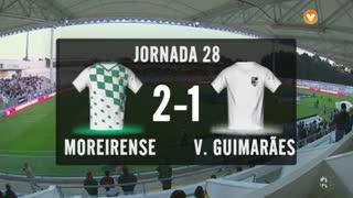 I Liga (28ªJ): Resumo Moreirense FC 2-1 Vitória SC