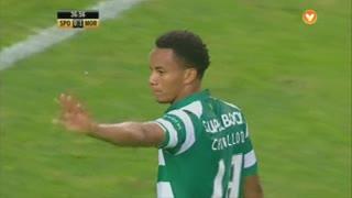 Sporting CP, Jogada, Carrillo aos 37'