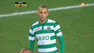 Sporting CP, Jogada, Slimani aos 65'