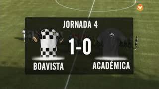 I Liga (4ªJ): Resumo Boavista FC 1-0 A. Académica