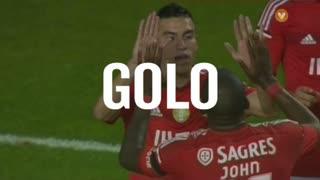 GOLO! SL Benfica, Gaitán aos 30', SL Benfica 1-0 Gil Vicente FC