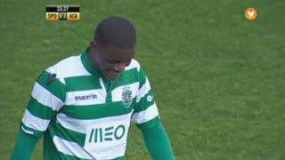 Sporting CP, Jogada, William aos 33'