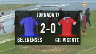 I Liga (17ªJ): Resumo Belenenses 2-0 Gil Vicente FC
