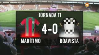 I Liga (11ªJ): Resumo Marítimo M. 4-0 Boavista FC