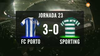 I Liga (23ªJ): Resumo FC Porto 3-0 Sporting CP
