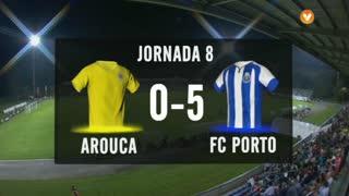 I Liga (8ªJ): Resumo FC Arouca 0-5 FC Porto