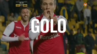 Sp. Braga, Pedro Santos aos 61', Estoril 0-2 Sp. Braga