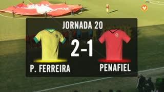 I Liga (20ªJ): Resumo FC P.Ferreira 2-1 FC Penafiel