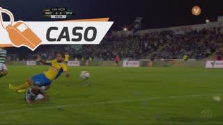 FC Arouca, Caso, Adilson Goiano aos 83'