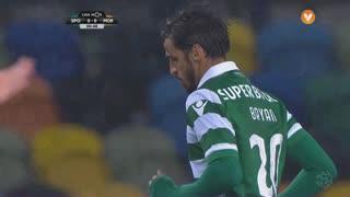 Sporting CP, Jogada, B. Ruiz aos 1'