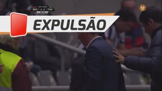 CD Tondela, Expulsão, Petit aos 50'