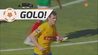 GOLO! Estoril Praia, Léo Bonatini aos 54', Estoril Praia 1-1 Marítimo M.