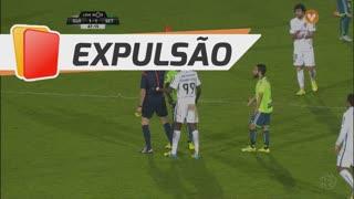 Vitória FC, Expulsão, Paulo Tavares aos 48'