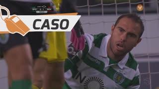 Sporting CP, Caso, Bruno César aos 55'