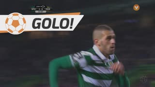GOLO! Sporting CP, Slimani aos 58', Sporting CP 3-0 Moreirense FC