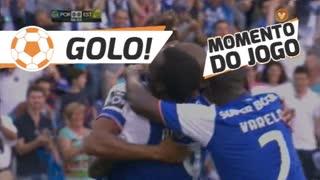 GOLO! FC Porto, Aboubakar aos 6', FC Porto 1-0 Estoril Praia