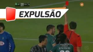 Vitória FC, Expulsão, Fábio Pacheco aos 1'