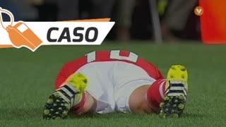 SL Benfica, Caso, Gaitán aos 20'
