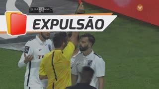 Vitória SC, Expulsão, Alex aos 48'