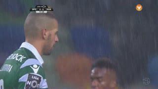 Sporting CP, Jogada, Slimani aos 18'