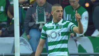Sporting CP, Jogada, Slimani aos 50'