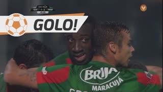 GOLO! Marítimo M., M. Marega aos 45', Vitória SC 1-2 Marítimo M.