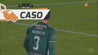 Vitória FC, Caso, Frederico Venâncio aos 70'