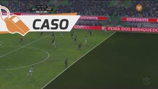 Sporting CP, Caso, T. Gutiérrez aos 6'