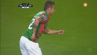 Marítimo M., Jogada, Edgar Costa aos 4'