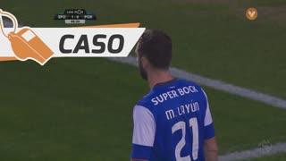 Sporting CP, Caso, João Mário aos 49'