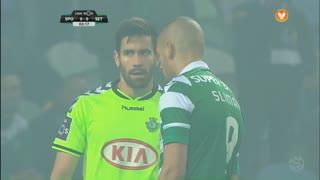 Sporting CP, Jogada, Slimani aos 4'