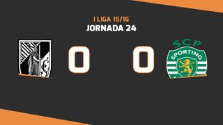 Liga NOS (24ªJ): Resumo Vitória SC 0-0 Sporting CP