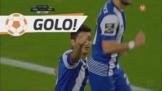 GOLO! FC Porto, J. Corona aos 29', FC Porto 1-1 FC P.Ferreira
