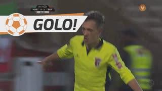 GOLO! SC Braga, Pedro Santos aos 34', Marítimo M. 0-3 SC Braga
