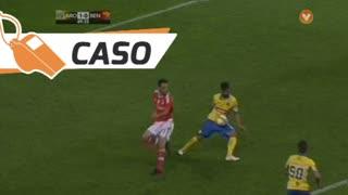 FC Arouca, Caso, Nuno Coelho aos 49'
