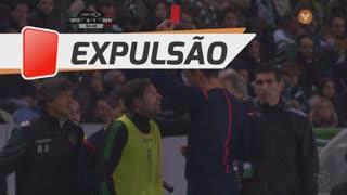 Sporting CP, Expulsão, Adrien Silva aos 87'