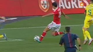 SL Benfica, Jogada, Gaitán aos 4'
