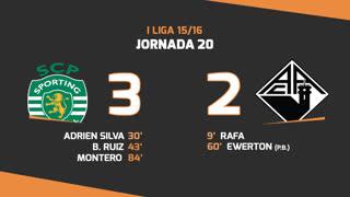 I Liga (20ªJ): Resumo Sporting CP 3-2 A. Académica