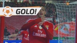 GOLO! SL Benfica, R. Jiménez aos 35', SL Benfica 3-0 Marítimo M.