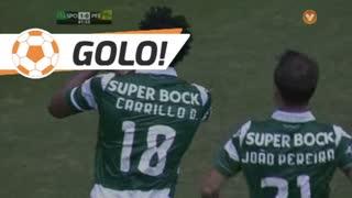 GOLO! Sporting CP, Carrillo aos 41', Sporting CP 1-0 FC P.Ferreira