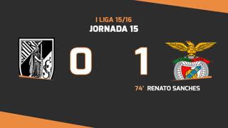 I Liga (15ªJ): Resumo Vitória SC 0-1 SL Benfica
